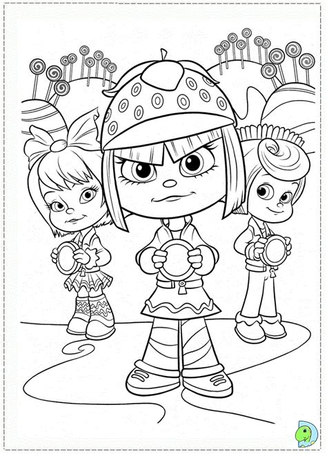 vanellope coloring pages www imgkid com the image kid