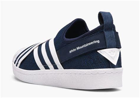 Sepatu Adidas Slip On 3 2018 white mountaineering adidas superstar slip on sneakernews