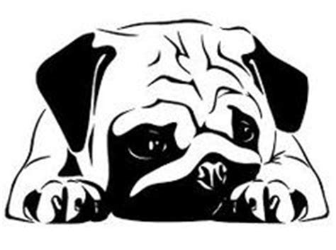 pug stencil 1000 images about silhouettes on silhouette silhouette and