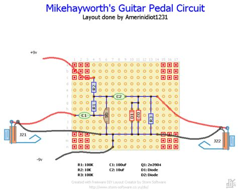 design effect guitar make an easy guitar distortion pedal step by step