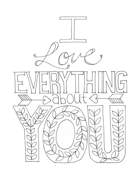 free printable coloring pages that say i love you kleurplaat quote vlairmatrassen