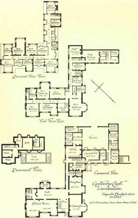 Servant Quarter House Plan Servants Quarters House Plans Escortsea