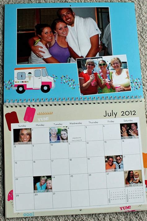 Calendar With Photos Personalized Calendars Who Arted