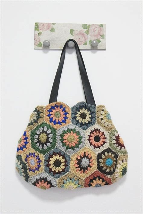 crochet afghan bag pattern 2103 best crochet handbags purses cases images on