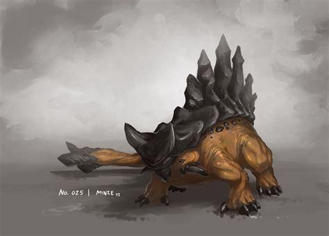 monsta x animal monster no 025 by onehundred monsters deviantart on