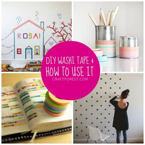 washi tape projects video diy fabric washi tape craft projects