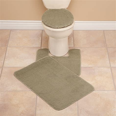 toilet seat cover and rug set plush bath rug set toilet seat cover and rug set walter