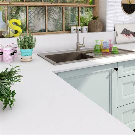 mat駻iel de cuisine plan de travail stratifi 233 mat edition blanc mat l 315 x p