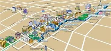 Las Vegas Tram Map by How To Get Around Las Vegas Without A Car Lasvegasjaunt Com