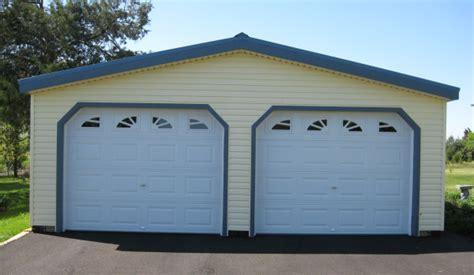 Car Shed Kits Prefab Two Car Garage