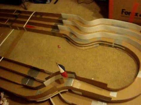 bikin layout track tamiya home made tamiya mini 4wd race track jcjc youtube