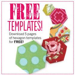 paper hexagon templates for patchwork free hexagon template pdf patchwork quilting
