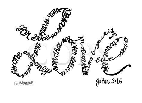 coloring page for john 3 16 john 3 16 sign popular items for john 3 16