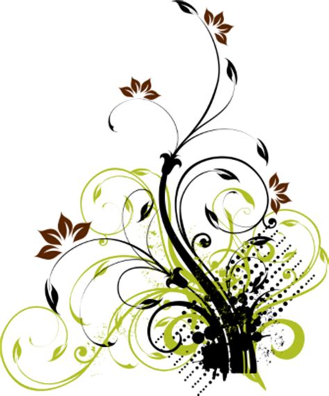 floral pattern vector background png download bunga 57 png