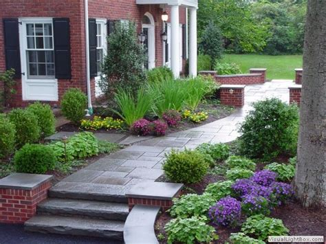 Front Garden Path Ideas 17 Best Images About Front Yard Landscaping On Landscaping Traditional Landscape