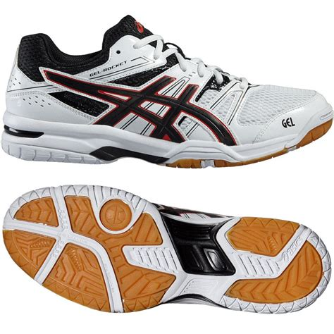 rocket shoes asics gel rocket 7 mens indoor court shoes sweatband