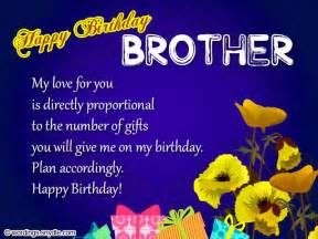 what to write in brothers birthday card birthday wishes for wordings and messages