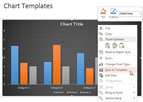 open chart template modernize your powerpoint 2010 charts using the new