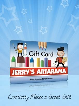 jerry s art egift card gift card egift card jerry s artarama - Jerry S Artarama Gift Card
