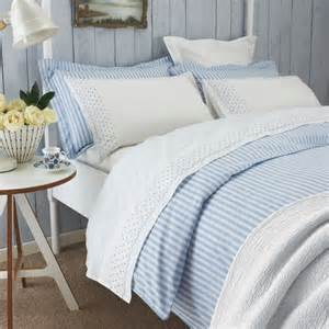 Blue And White Bed Covers Luxury Blue White Striped Duvet Covers Sanderson