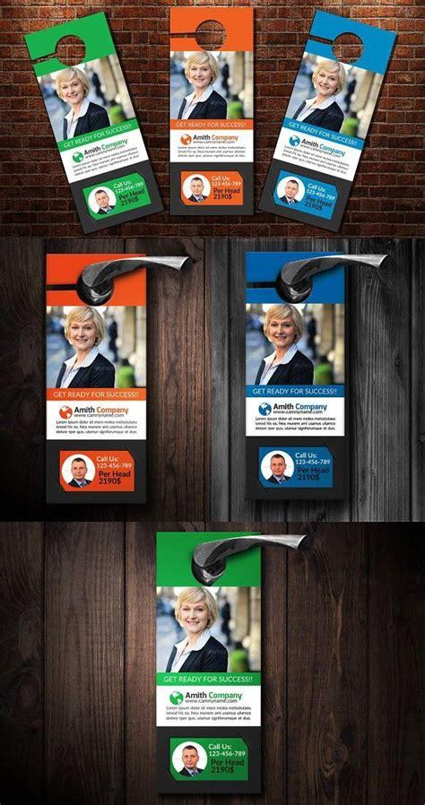 corporate business door hanger  images corporate