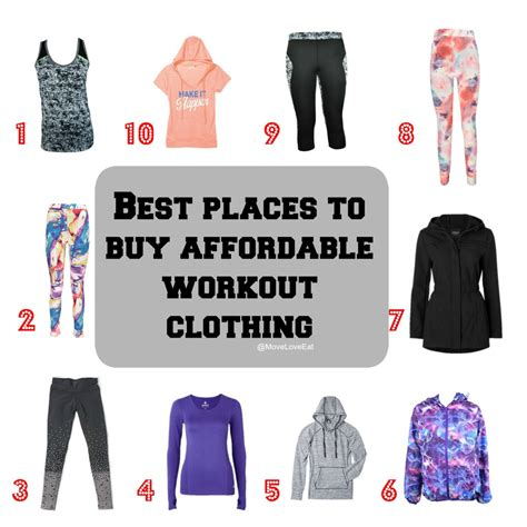 8 Best Places To Buy Clothes by Best Fitness Fashion Blogs