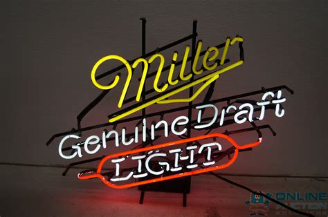 miller genuine draft light auction listings in minnesota auction auctions