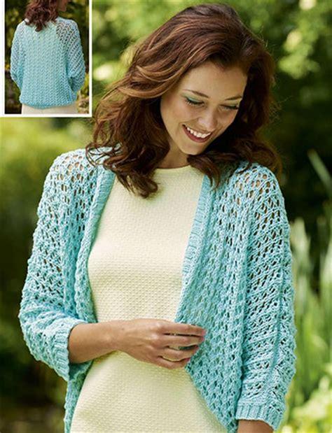 free knitting patterns shrugs boleros free bolero knitting patterns