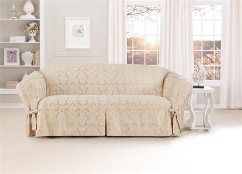 slipcovers for sofas kmart sure fit middleton one sofa slipcover chagne