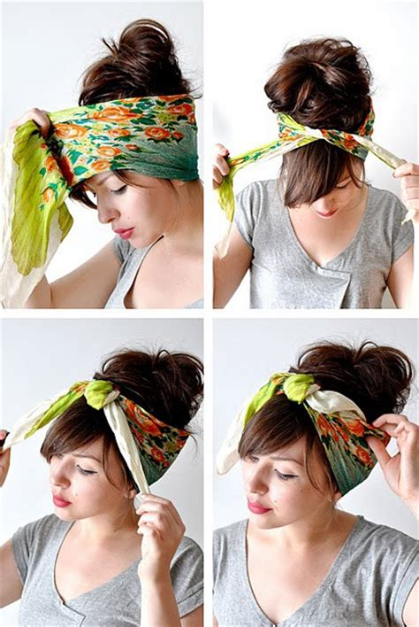 ways to tie a scarf second chance