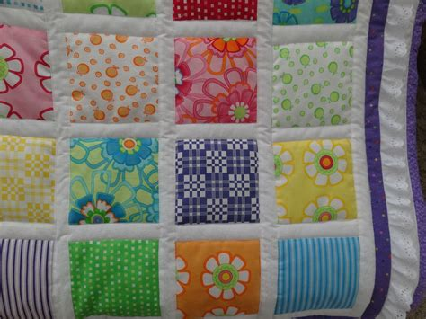 bright colored quilts bright colored baby quilt small bedroom