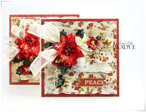 traditional christmas cards video tutorial wild orchid