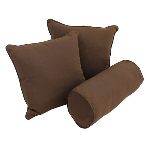 futon polster blazing needles 18 quot futon solid twill pillows with bolster