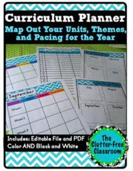 pacing calendar template for teachers curriculum planning curriculum and planning calendar on