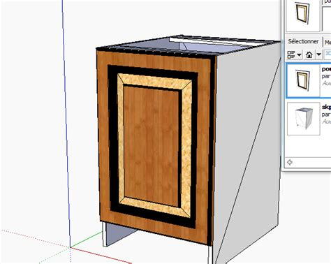 Software Model Polyboard designing furniture with sketchup and polyboard cabinet