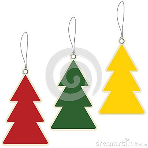 christmas tree price tags royalty free stock photos