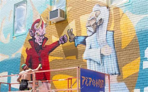 Outdoor Wall Mural Stencils the 10 best street art festivals this summer momondo