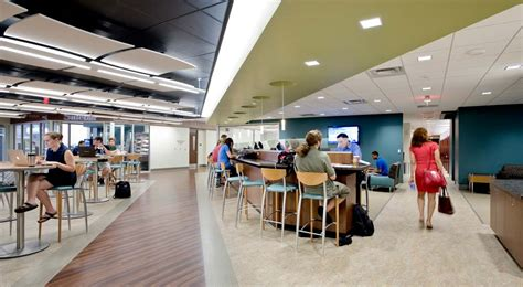 Interior Partitions barco law school student lounge strada a cross