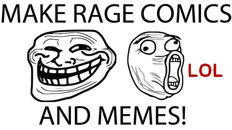 make your own memes and rage comics free youtube