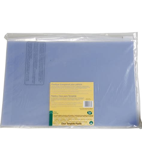 template plastic for quilting dritz quilting 12 x 18 template plastic value pack 3
