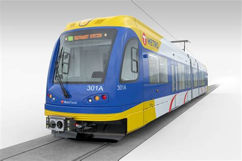 Light Rail Vehicle by Railway News Usa Siemens S70 Light Rail Vehicles