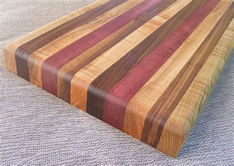 Kitchen Island Cherry by How To Make Your First Wooden Cutting Board