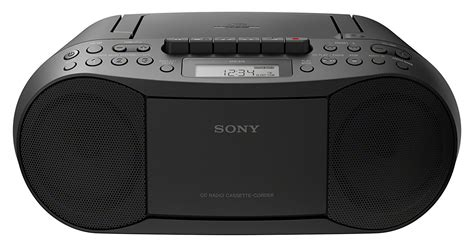 cassette cd player sony cfd s70 portable cd player cassette boombox with am