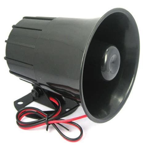 aliexpress buy dc12v 24v wired loud alarm siren horn