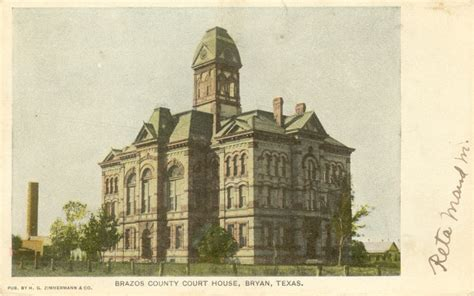 Us Post Office Bryan Tx by 086 Brazos County 254 Courthouses
