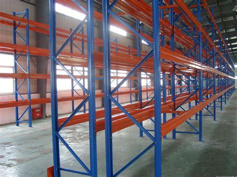 heavy duty selective steel storage pallet rack systems