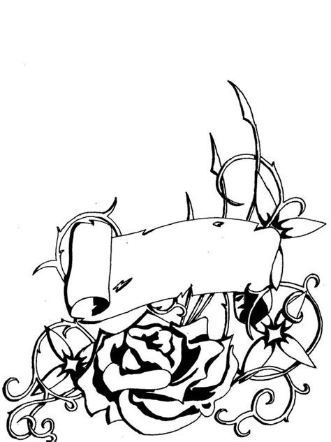 rose and scroll tattoo designs free pictures of roses with vines free clip