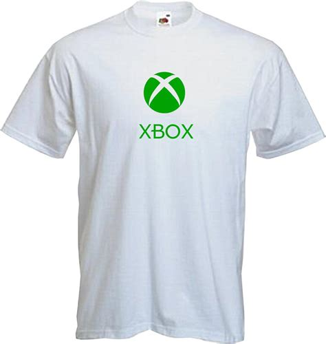 Tshirt Xbox One White xbox t shirt category cool gamer gaming