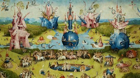 trittico giardino delle delizie il sito che ti fa entrare nel giardino delle delizie di