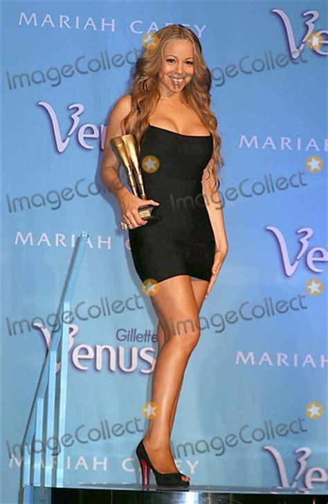 pictures gillette venus awards mariah carey celebrity legs   goddess title